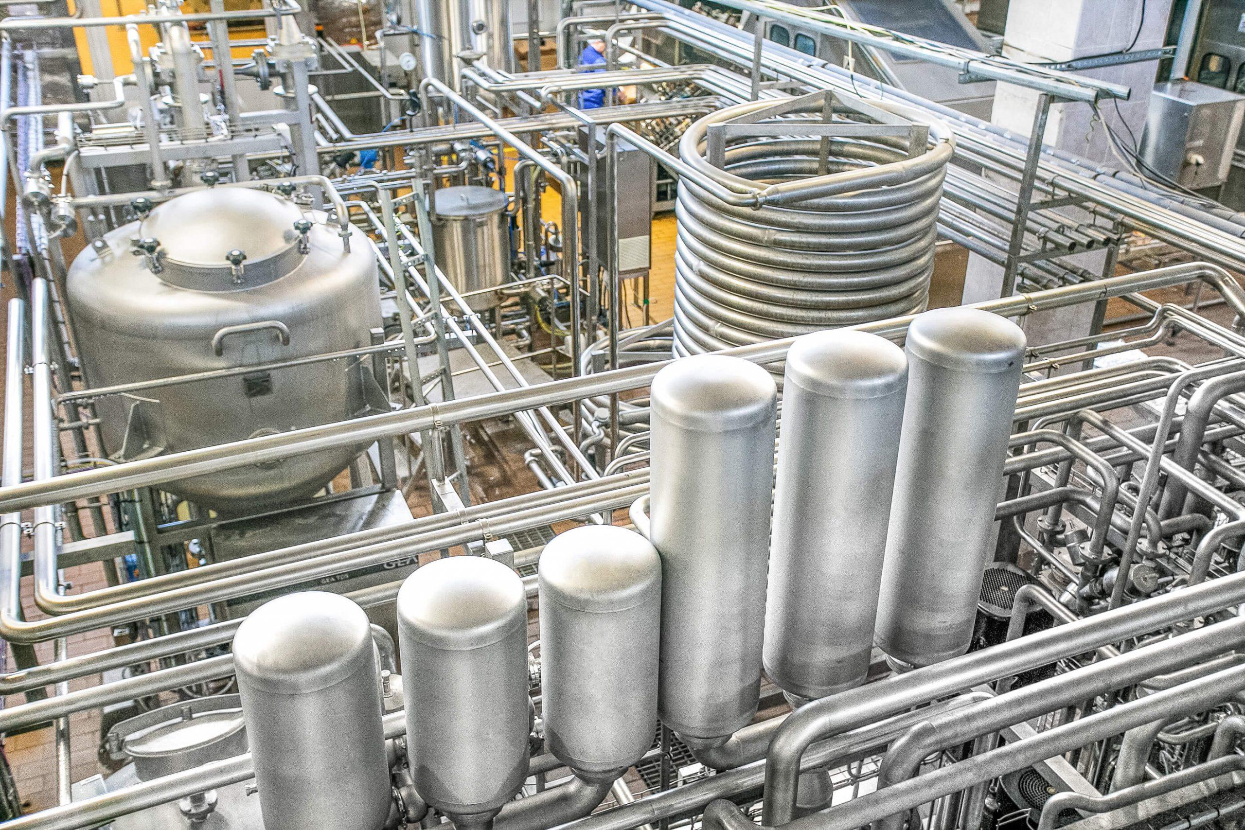 Milk Processing Factory